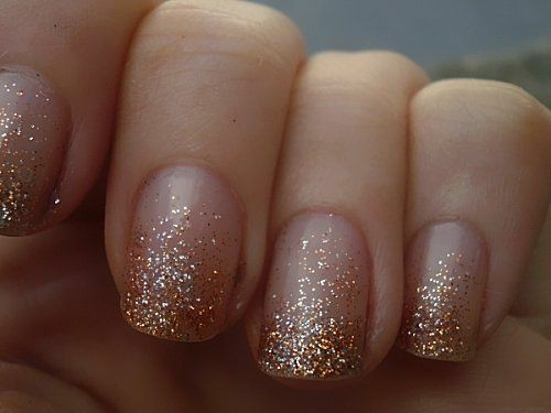 Create Glitter Gradient With Craft Glitter