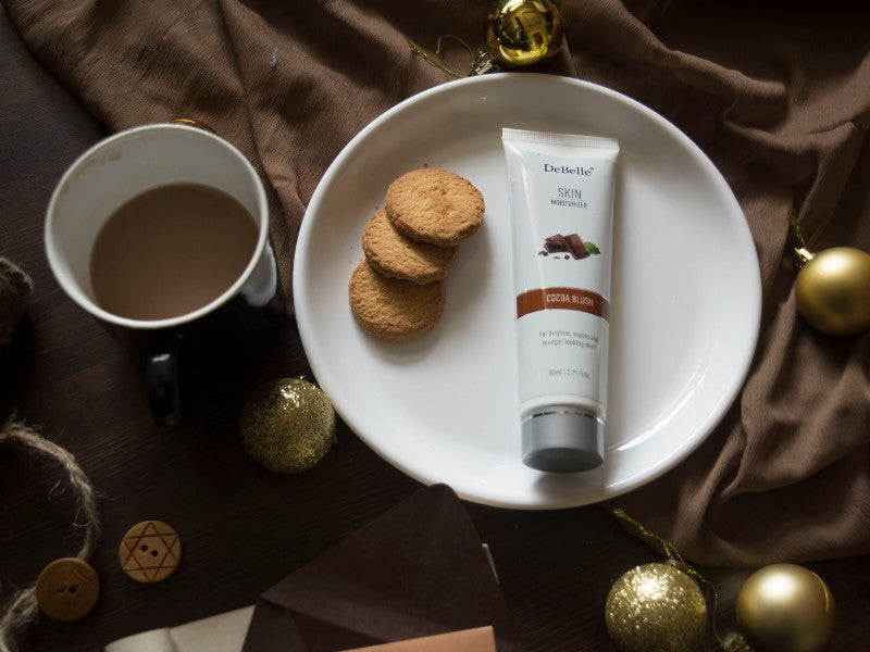 DeBelle Cocoa enriched moisturizer is a perfect cream for your winter skin care routine