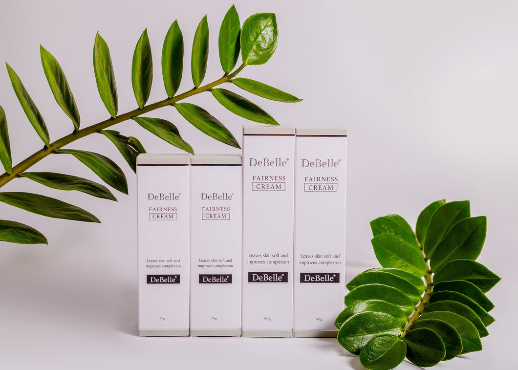 DeBelle Fairness Cream is a multibenefit cream, with good moisturizing. Skincare product, which is paraben free, and naturally enriched with mulberry extract, kojic acid. it helps in skin whitening, even skin tone and anti-ageing.