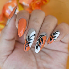 Load image into Gallery viewer, Bright orange nail paint india online