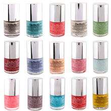 Load image into Gallery viewer, Nail polish multicolor combo  of 15 colorful 8ml nail lacquers