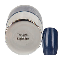Load image into Gallery viewer, DeBelle Gel Nail Lacquer Twilight Sapphire - Pastel Navy Blue
