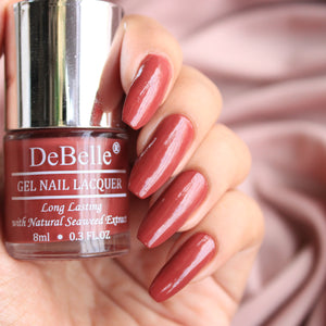 DeBelle Gel Nail Lacquers Combo Scarlet Ruby & Apricot Dew