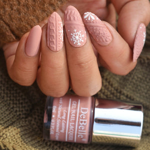 3d nail art design inspiration - 3d sweater nail art