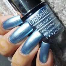 Load image into Gallery viewer, DeBelle Gel Nail Lacquer Metallic Light Blue - Aqua Frenzy (8ml)