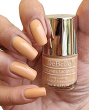 Load image into Gallery viewer, DeBelle Gel Nail Lacquers Combo of 3 Almond Blush, Roseate Gold and Natural Blush - 8 ml each