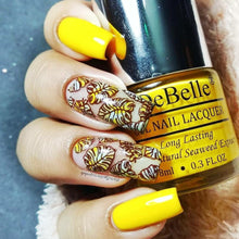 Load image into Gallery viewer, Caramelo Yellow - Bright Yellow Nail Paint In India