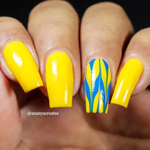 Caramelo Yellow - Bright Yellow Nail Paint In India