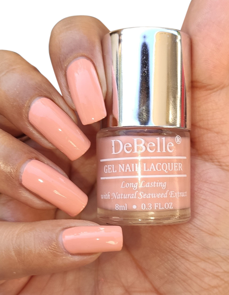 DeBelle Pastel Brown Nail Polish