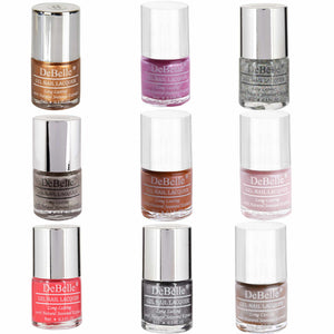 DeBelle Gel Nail Lacquers De Fête - The best festive nail polish gift set in India!