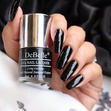Load image into Gallery viewer, Debelle black nail polis shade india