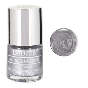 DeBelle Gel Nail Lacquer Metallic Silver  - Chrome Silver (8ml)