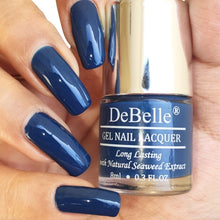 Load image into Gallery viewer, Best navy blue nail polish in india - top no uv gel nail polish for women