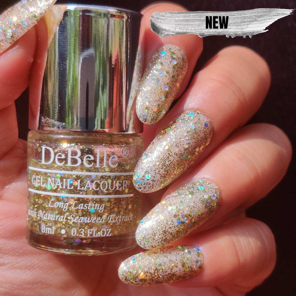 Best chunky holographic glitter nail polish india