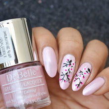 Load image into Gallery viewer, Cherry blossom nail art design pink
