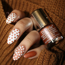 Load image into Gallery viewer, Rose gold nail art design inspiration