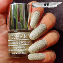 Load image into Gallery viewer, Champagne glitter nail polish india
