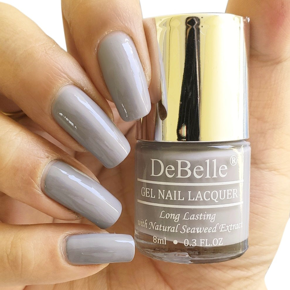 DeBelle Gel Nail Lacquer Sombre Grey - Light Grey