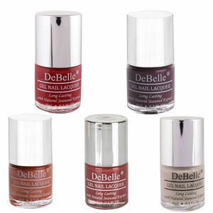 Amber Skittles Nail Collection - DeBelle Gel Nail Lacquers