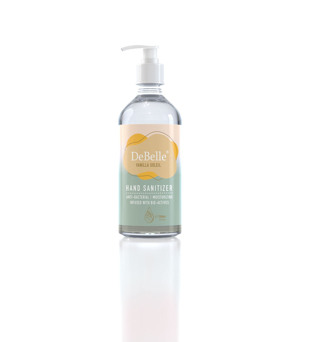 DeBelle hand sanitizer - vanillasoleil  | Best hand sanitizer in India online