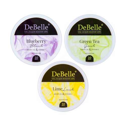 DeBelle nail polish remover wipes - buy acetone free nail polish remover wipes India online