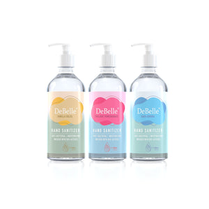 DeBelle Gel Hand Sanitizers Combo of 3 ,500ml each