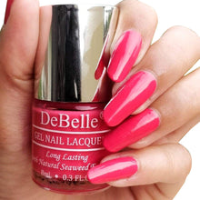 Load image into Gallery viewer, DeBelle rosy pink nail polish