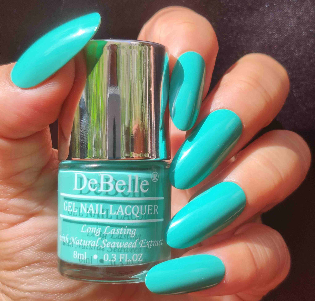 Best mint blue nail polish shade in india for women