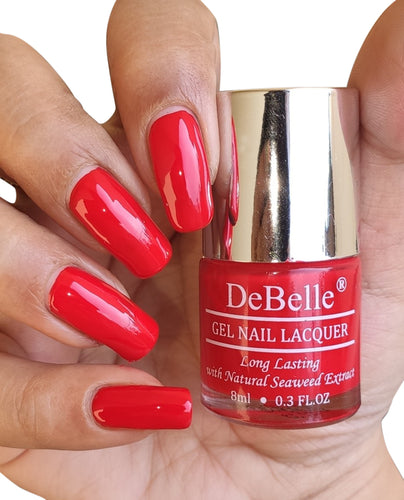 DeBelle Bright Red Nail Polish
