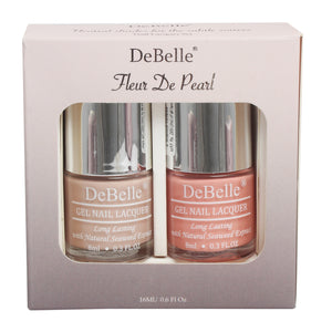 DeBelle Gift Set Fleur De Pearl gift pack of 2 Peony Blossom & Apricot Dew - 8 ml each