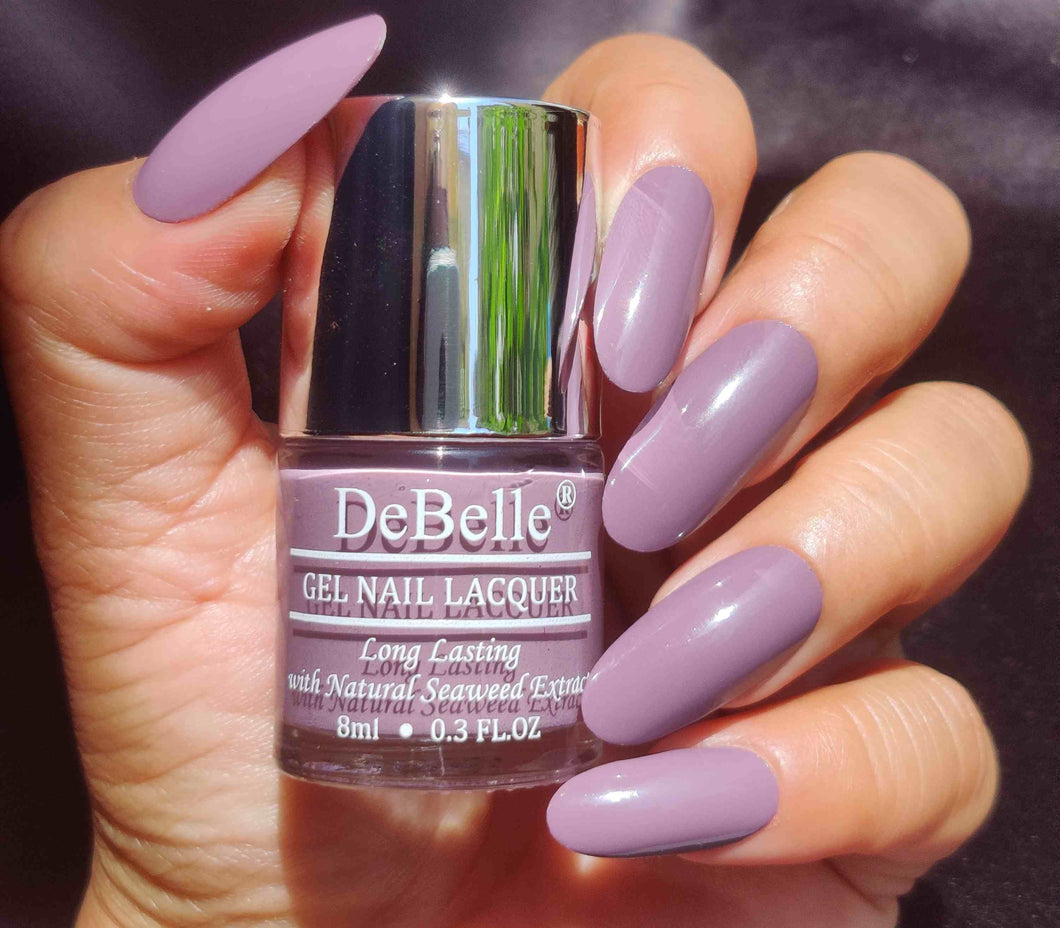 DeBelle Gel Nail Lacquer Mauve Orchid - Fleur Bouquet Collection