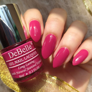 Dark Magenta nail Polish shade india