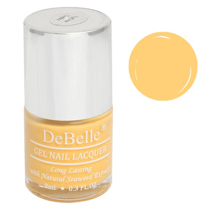 DeBelle mustard Yellow Nail paint for women