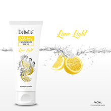 Load image into Gallery viewer, Debelle 2 in 1 Lime citrus face scrub and mask