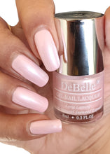 Load image into Gallery viewer, Pearl baby pink nail polish shade for work