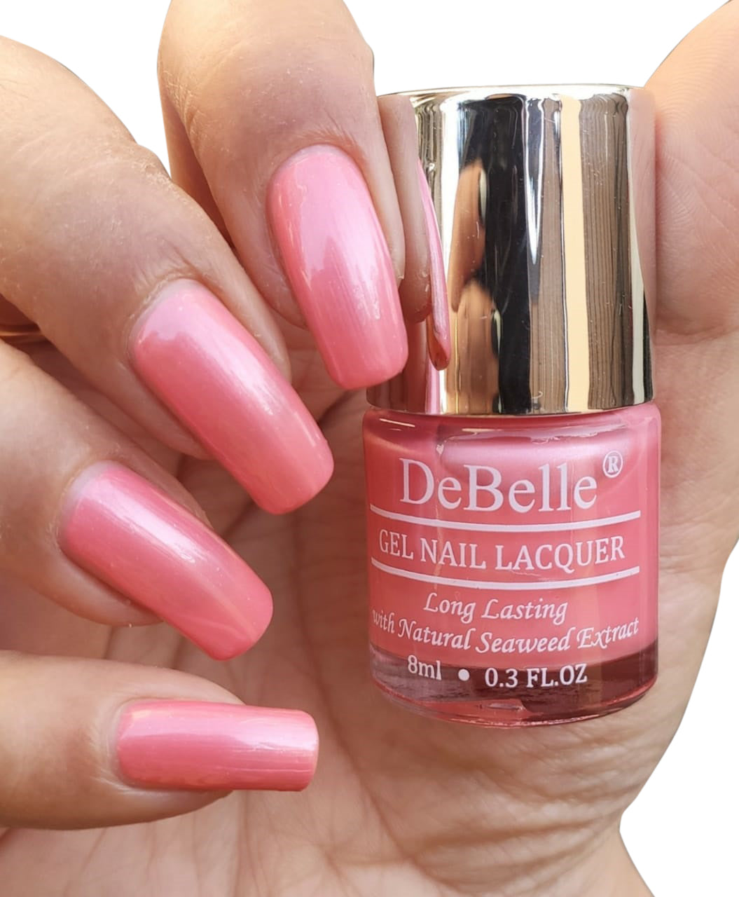 Debelle Gel Nail Polish Miss Bliss Pearl Pink Nail Polish For Women Debelle Cosmetix Online Store