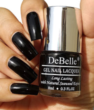 Load image into Gallery viewer, one coat black nail polish india