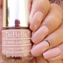 Load image into Gallery viewer, DeBelle Gel Nail Lacquer Pink Mauve - Rose Aurelia (8ml)
