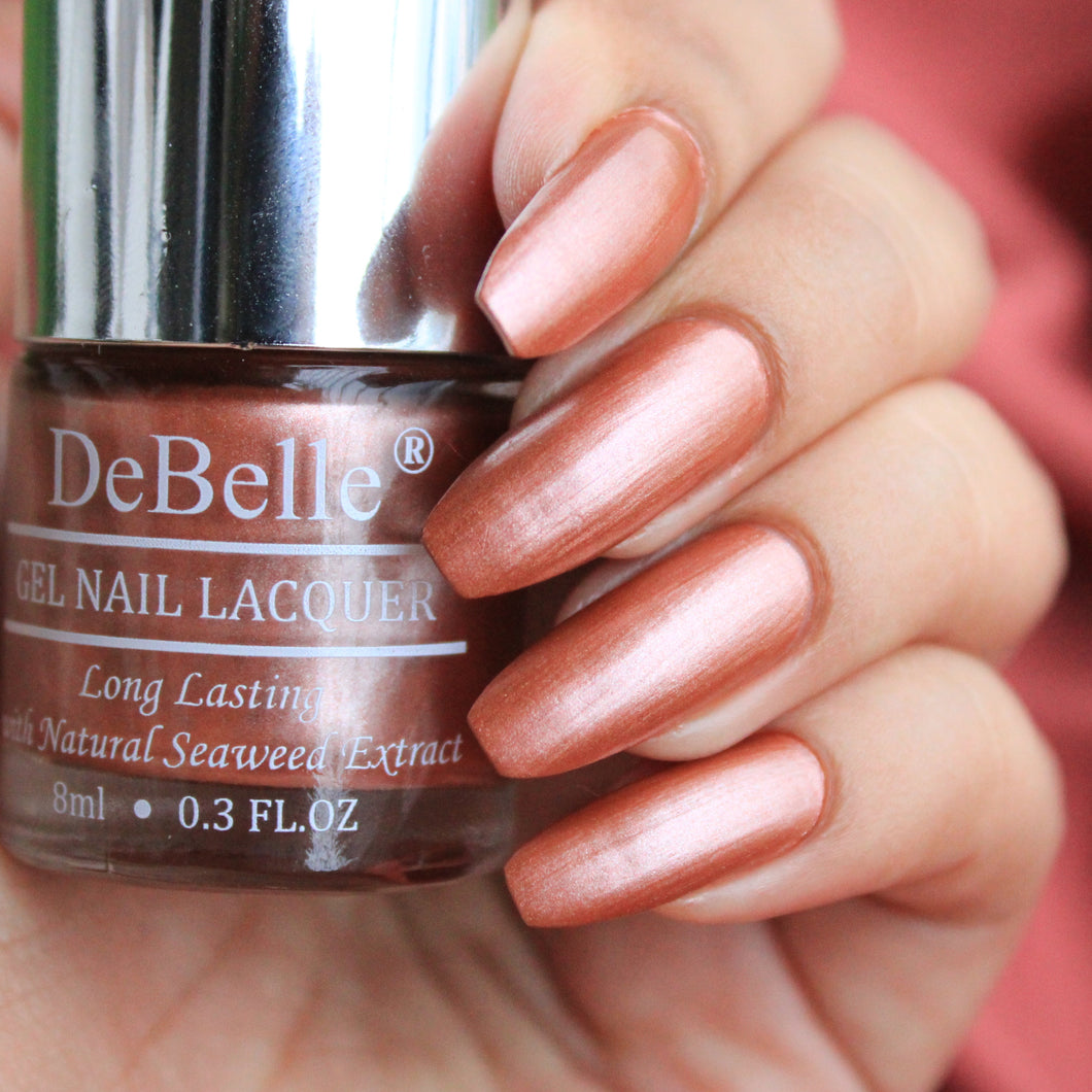 Rose Gold Nail Polish shade india