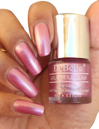 DeBelle Metallic Light Pink Swatch