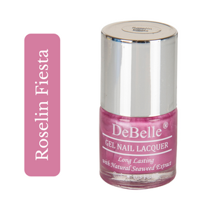 Metallic baby pink nail polish shade in india