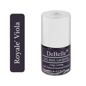 Dark violet nail polish shade india