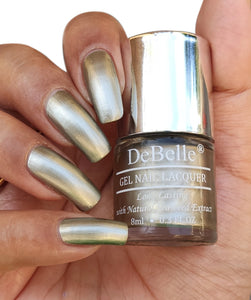 DeBelle Rustique Gold Nail Swatch