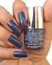 Load image into Gallery viewer, DeBelle Pastel Navy Blue Nail Shade