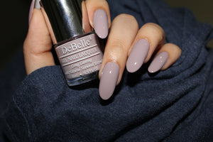 DeBelle Gel Nail Lacquer Combo Set of 2 Vintage Frost (Pastel Purple) & Glamorous Garnet (Dark Maroon) , 16 ml