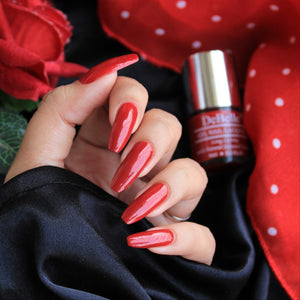Dark maroon nail polish shade for women india