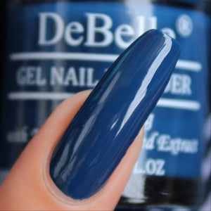 best navy blue nail paint shade
