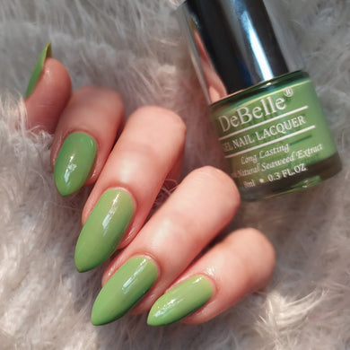 best pastel green nail polish shade for women in India