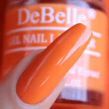 Load image into Gallery viewer, Bright orange nail polish colour