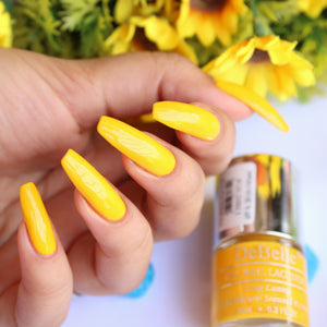 Bright yellow nail polish india